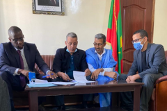 UNITED Signs Agreement with Mauritania's National Real Estate Agency