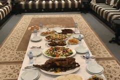 Lunch at a Government Official's Residence in Mauritania