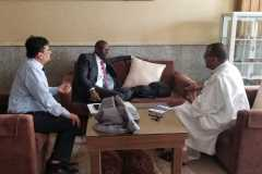 UNITED General Partner Arona Sy and United Labs COO Raj Sabramanian Being Interviewed in Mauritania