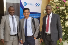 UNITED with the  Director of Financial Inclusion of the Central Bank of Mauritania