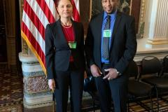 UNITED Co-Founder Ali Diallo at the White House with the Director of the Millennium Challenge Corporation